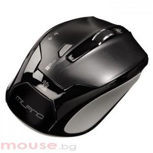 Безжична оптична мишка HAMA   Milano   USB, черна