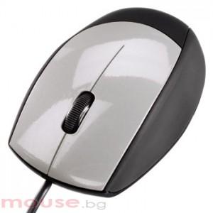 Оптична мишка HAMA-M368,52388 USB, черно и сиво