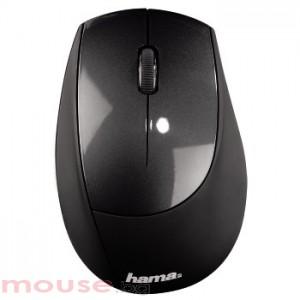 Безжична оптична мишка HAMA-M2150 USB, черно/  антрацит