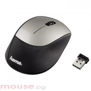 Безжична оптична мишка HAMA-M2150 USB, черно/ сива