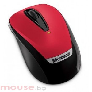 Мишка MICROSOFT Wireless Mobile Mouse 3000 Red