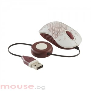 Мишка TARGUS Targus Cоmpact Bluetrace Wired Mouse Pattern USB Port