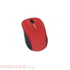Мишка MICROSOFT Wireless Mobile Mouse 3500 Flame Red Gloss