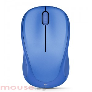 Logitech Wireless Mouse M317, blue bliss