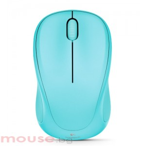Logitech Wireless Mouse M317, merry mint