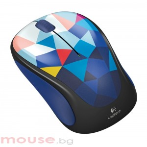 Logitech Wireless Mouse M238 Play Collection - Blue Facets