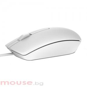 Мишка DELL MS116 оптична бяла