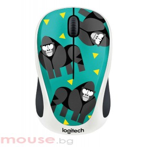 Мишка LOGITECH M238 безжична Party Collection - GORILLA