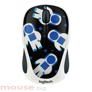 Мишка LOGITECH M238 безжична Party Collection - SPACEMAN