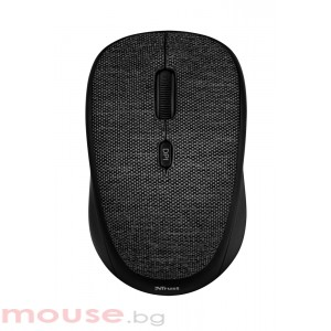 Мишка TRUST Yvi Fabric Wireless Mouse – черен