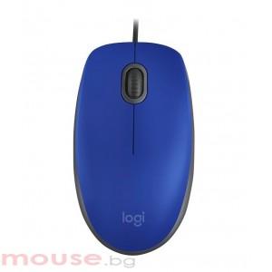 Мишка LOGITECH M110 Silent – син