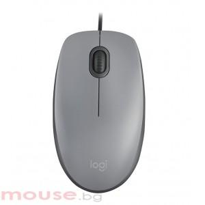 Мишка LOGITECH M110 Silent – сив