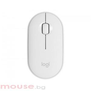 Мишка LOGITECH Pebble M350 Wireless Mouse - OFF-WHITE