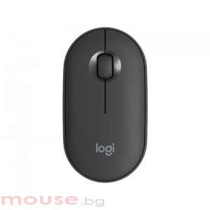 Мишка LOGITECH Pebble M350 Wireless Mouse - GRAPHITE