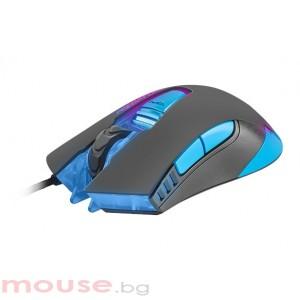 Мишка FURY Gaming mouse, Predator 4800PDI, optical with software, Black