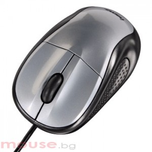 Оптична мишка HAMA AM-100 ,USB,сива