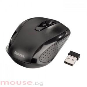 Безжична оптична мишка HAMA AM-7300 USB, черно/ сива