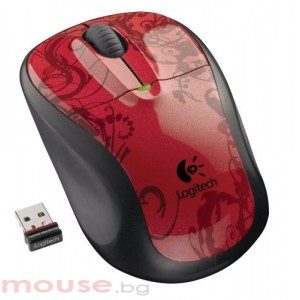 Logitech Wireless M305 Red Tendrils
