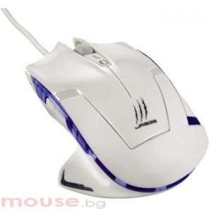 Лазерна геймърска мишка uRage Ice Dragon- бяла USB