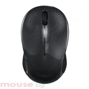 Безжична мини оптична мишка HAMA Pesaro 2.4 USB 1200 dpi Черен