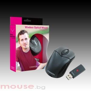 Мишка CANYON CNR-MSOPTW5 безжична, оптична