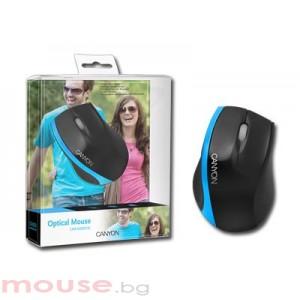 Мишка CANYON CNR-MSO01BL USB 2.0