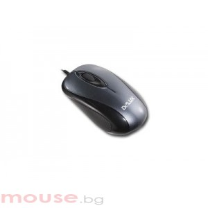 Мишка DELUX DLM-350/USB/SILVER/BLACK USB