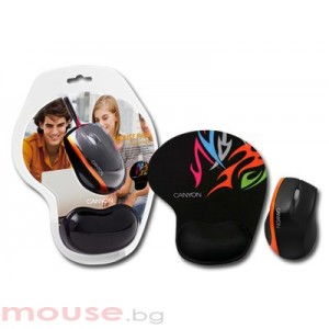 Мишка CANYON CNR-MSPACK4O USB