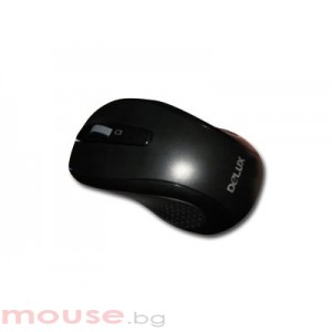 Мишка DELUX DLM-315GB_PLUS_G01UF/BLACK Wireless