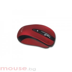 Мишка DELUX DL-M483GL Red/Black