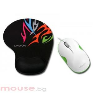 Мишка CANYON CNR-MSPACK5G USB