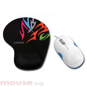 Мишка CANYON CNR-MSPACK5BL USB