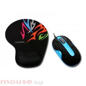 Мишка CANYON CNR-MSPACK6BL USB