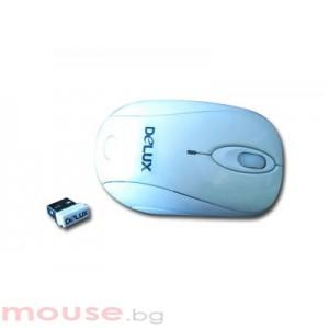 Мишка DELUX DL-M350GLPLUSGM01UF/WHITE Wireless
