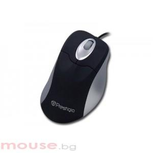 Мишка PRESTIGIO PM41 Black/Silver