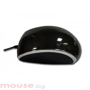 Мишка DELUX DLM-116 Black