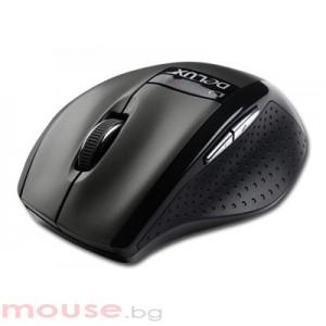 Мишка DELUX DLM-526GB Black