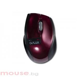 Мишка DELUX DLM-526GB Bordo