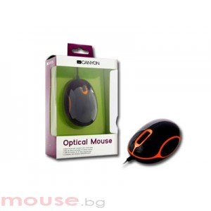Мишка CANYON CNR-MSO05NO Black/Orange