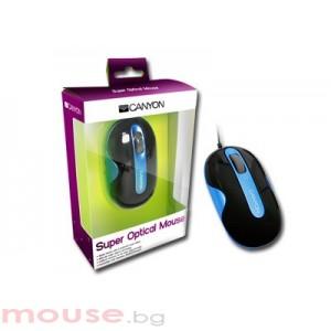 Мишка CANYON CNR-MSD01NBL USB