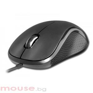 Мишка DELUX DLM-391, BLACK, USB