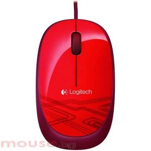 Мишка LOGITECH M105 Оптична жична червен
