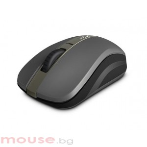 Безжична оптична и блутут мишка RAPOO 6610M, 2.4 Ghz, Bluetooth, Черен/Сив