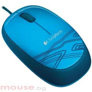 Мишка LOGITECH M105 Оптична жична син