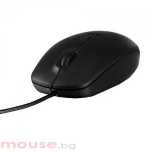 Мишка DELL MS111 оптична жична черна
