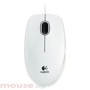 Мишка LOGITECH 910-003360 B100 Оптична USB бяла
