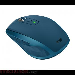 Безжична лазерна мишка LOGITECH MX Anywhere 2S Midnight Teal, Bluetooth
