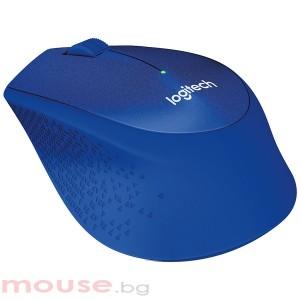 Мишка LOGITECH M330 SILENT PLUS безжичен оптичен син