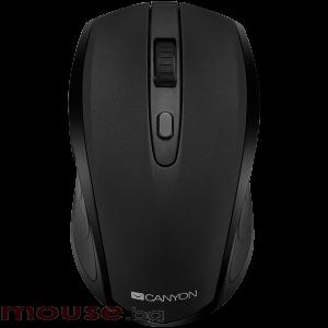 Мишка CANYON Безжичен, Оптичен, 800dpi</br>1600dpi