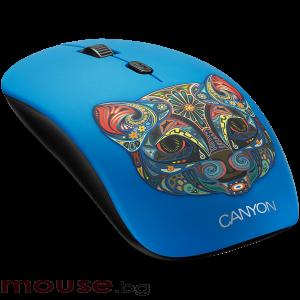 Мишка CANYON Безжичен, Оптичен, 800dpi</br>1200dpi</br>1600dpi